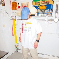 1990s VOLLEYBALL ILLUSTRATION T-SHIRT