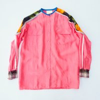 yes!yes!非非 - PIPING SILK SHIRT #03