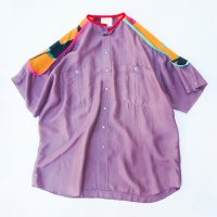 yes!yes!非非 - PIPING SILK SHIRT #04