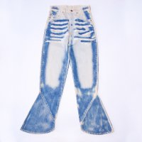 DESIGN FLARE DENIM PANTS<img class='new_mark_img2' src='https://img.shop-pro.jp/img/new/icons10.gif' style='border:none;display:inline;margin:0px;padding:0px;width:auto;' />
