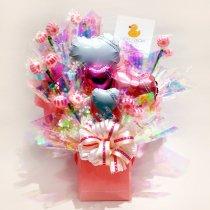 春のお祝いキャンディブーケ