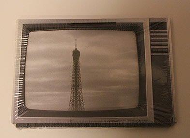 WERKHAUS社 写真立て〈ブラウン管テレビ/グレー〉