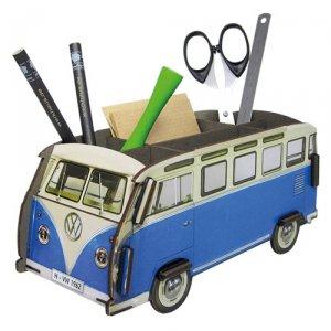 WERKHAUS社 ペン立て〈VolksWagenバス/青色〉