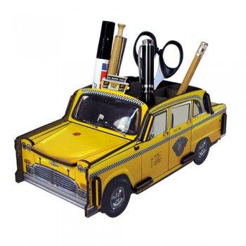 WERKHAUS社 ペン立て〈New York Taxi/黄色〉