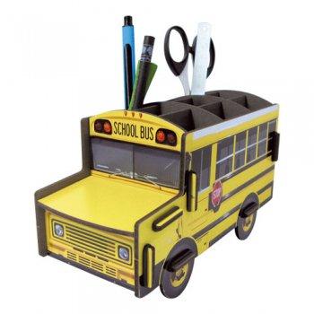 WERKHAUS社 ペン立て〈School Bus/黄色〉