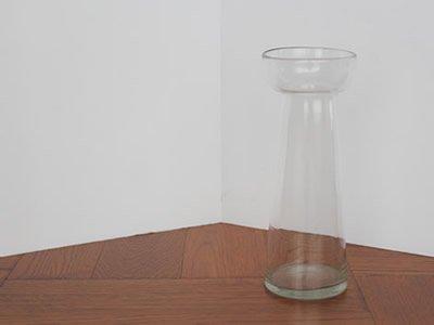 ヒヤシンスのガラス花瓶〈スリム/クリア〉
