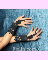 <img class='new_mark_img1' src='//img.shop-pro.jp/img/new/icons24.gif' style='border:none;display:inline;margin:0px;padding:0px;width:auto;' /><70%OFF>【Magical doll PREMIUM】Lace Glove Chloe Black (マジカルドールプレミアム レースグローブ クロエブラック)