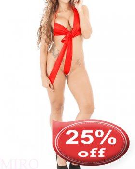 〈25%OFF〉ボディラインをリボンで包み込むセクシーテディ