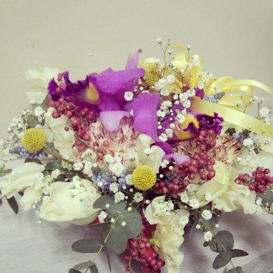 送別用花束「成熟した魅力」-千代田区飯田橋のお花屋さんhanaTAKEZO
