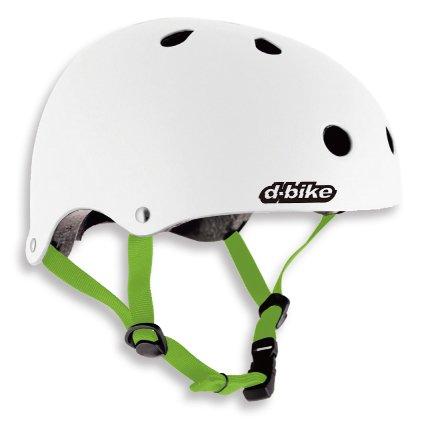 D-Bike キッズヘルメットS / ホワイト