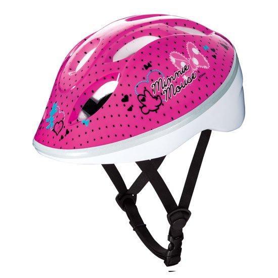 キッズヘルメット / Sサイズ ミニーマウス(ピンク)
