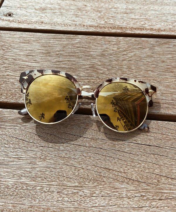 べっ甲mirrorサングラス