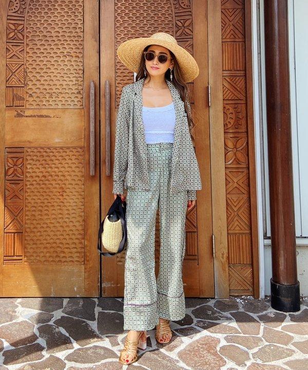 oriental patternセットアップ