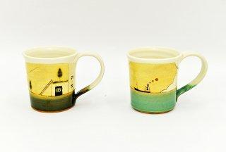 コーヒーカップ(夢の中/空と海) atelier+shop  COCOCO(アトリエ+ショップ コココ)