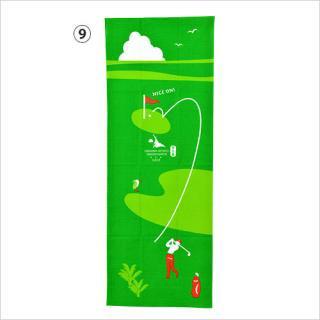 てぬぐい(ゴルフ/シーサー) DESIGN MATCH(デザインマッチ)