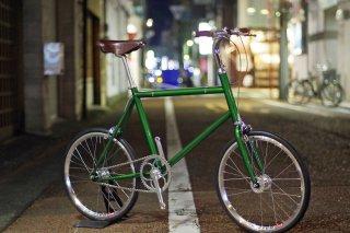 FLAT-1×British Green KUSTOM