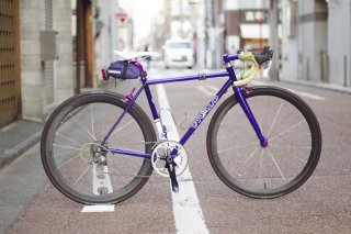 Hand built(手組み)Industry Nine×FORMOSA ROADカーボンチューブラー