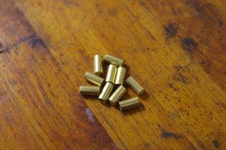 真鍮製ブレーキ用アウターキャップ 10個 ※クリックポスト¥198可