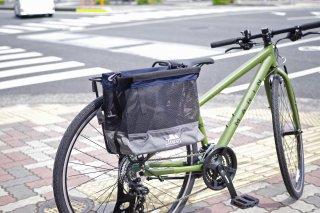 [JANDD] Grocery Bag Pannier : ネイビー×グレー