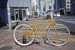 NEW ALBION CYCLES : STARLING ORANGE