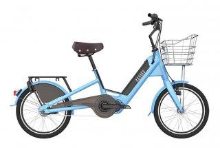 KOHAKU SC500 電動アシスト自転車 スカイブルー