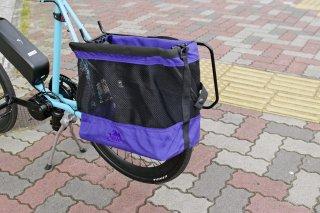[JANDD] Grocery Bag Pannier : パープル