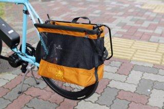 [JANDD] Grocery Bag Pannier : オレンジ
