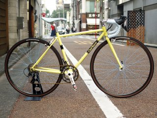 Pastel Yellow×Sky Blue ROAD BIKE