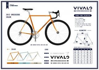 VIVALO DRESSCODE ロードフレーム ¥105,000〜(税別)