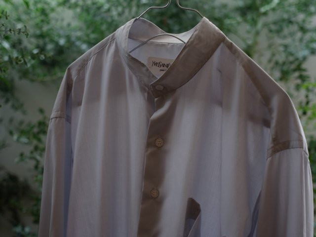 no. 199 Stand Collar Shirt(YVES SAINT LAURENT)