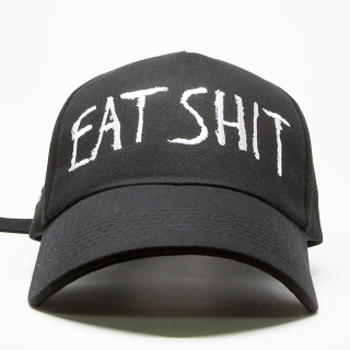 EAT SHIT CAP (黒)