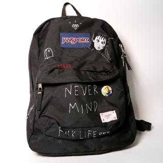 【ONE-OFF】HAND PAINTED BACK-PACKS #002