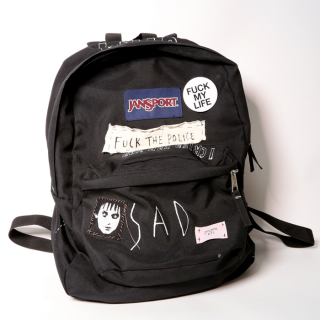 【ONE-OFF】HAND PAINTED BACK-PACKS #004