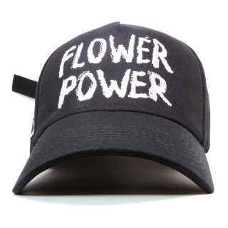 FLOWER POWER CAP (黒)