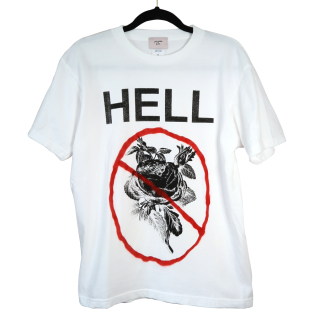 HELL  Tシャツ(白)