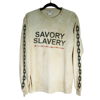 【STAIN】SAVORY SLAVERY L/S Tシャツ