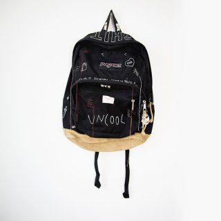 【ONE-OFF】HAND PAINTED BACK-PACKS UNCOOL#002