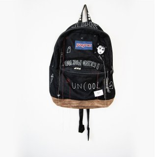 【ONE-OFF】HAND PAINTED BACK-PACKS UNCOOL#003