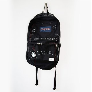【ONE-OFF】HAND PAINTED BACK-PACKS UNCOOL#005