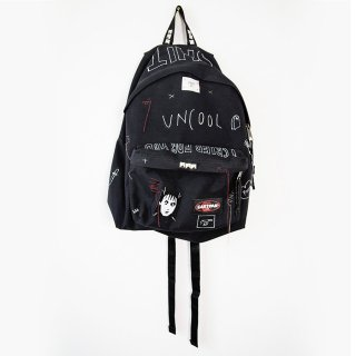 【ONE-OFF】HAND PAINTED BACK-PACKS UNCOOL#007