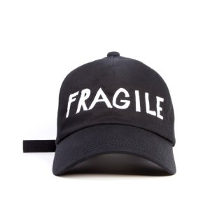 FRAGILE CAP  (BLACK)