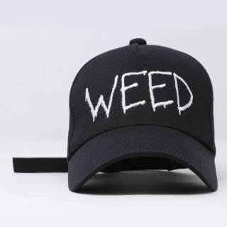 WEED CAP (黒)