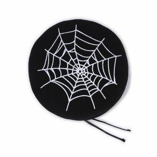 SPIDER ベレー (黒)