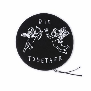 DIE TOGETHER ベレー (黒)