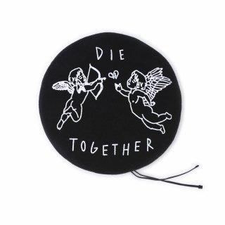 DIE TOGETHER ベレー (黒)