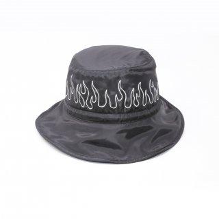 REFLECTIVE FLAME NYLON BUCKET HAT