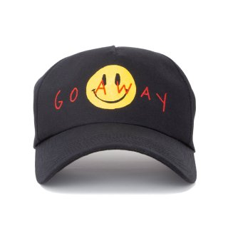 GO AWAY  CAP (黒)