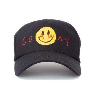 GO AWAY  CAP (黒)