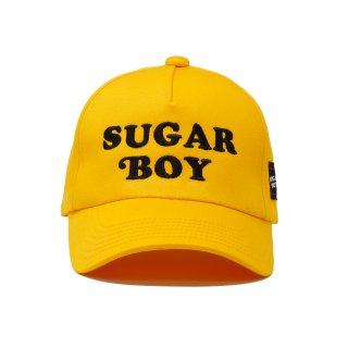 【SUGAR BOY】 LOGO CAP (YELLOW)