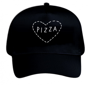 PIZZA CAP (黒)
